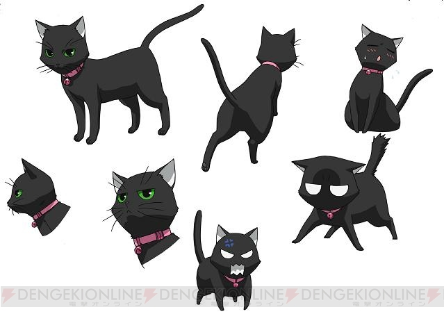 10月スタートのtvアニメにゃんこいネコたちの設定画などを
