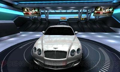 電撃 3dで高速レースバトル! 『アスファルト 3d:ニトロレーシング』