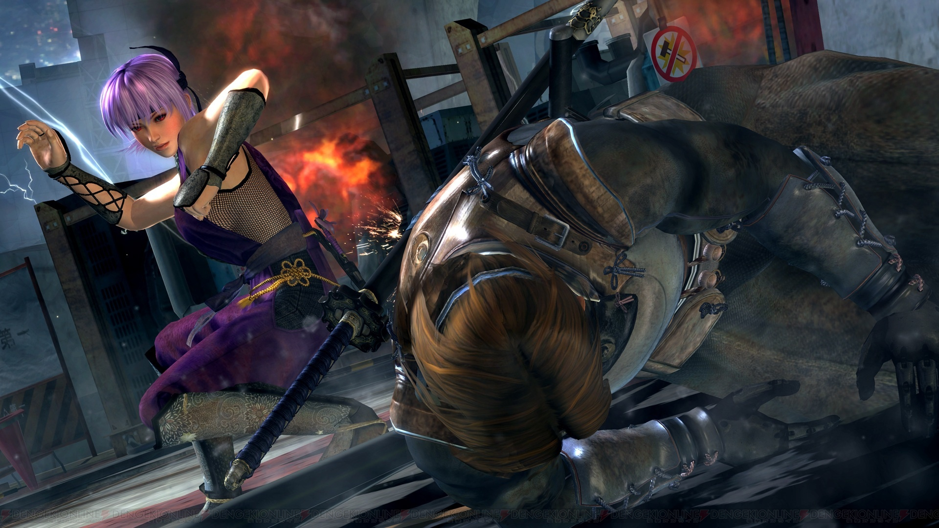 Doa ヒロイン3人の壁紙がもらえる Ninja Gaiden 3 初回特典の Dead Or Alive 5 体験版アンケートを実施 電撃オンライン