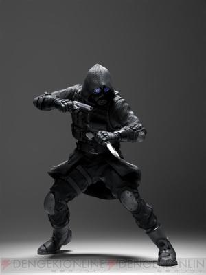 『バイオハザード オペレーション・ラクーンシティ』  フードをかぶってマスクの印象すら覆い隠すU