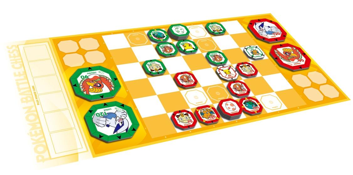 電撃 - 対戦型ボードゲーム『ポケモンバトルチェス』の新 ...