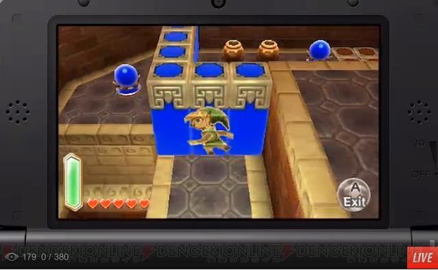 3DS『ゼルダの伝説 神々のトライフォース2』が2014年初頭発売