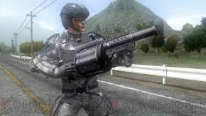 『地球防衛軍4』に登場する各兵科の武器・兵器を紹介! 連合地球軍エンブレム&4兵科イラスト缶バッジセットの発売も決定