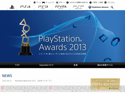 """PlayStation Awards 2013"""