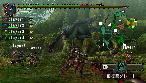 Capcom портирует Monster Hunter Freedom Unite с PSP на iOS