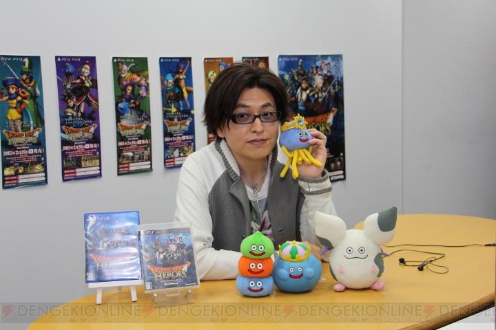 『ドラゴンクエストヒーローズ』緑川光さんのアリーナへの愛はクリフト級!? 好きな『DQ』シリーズも聞いた