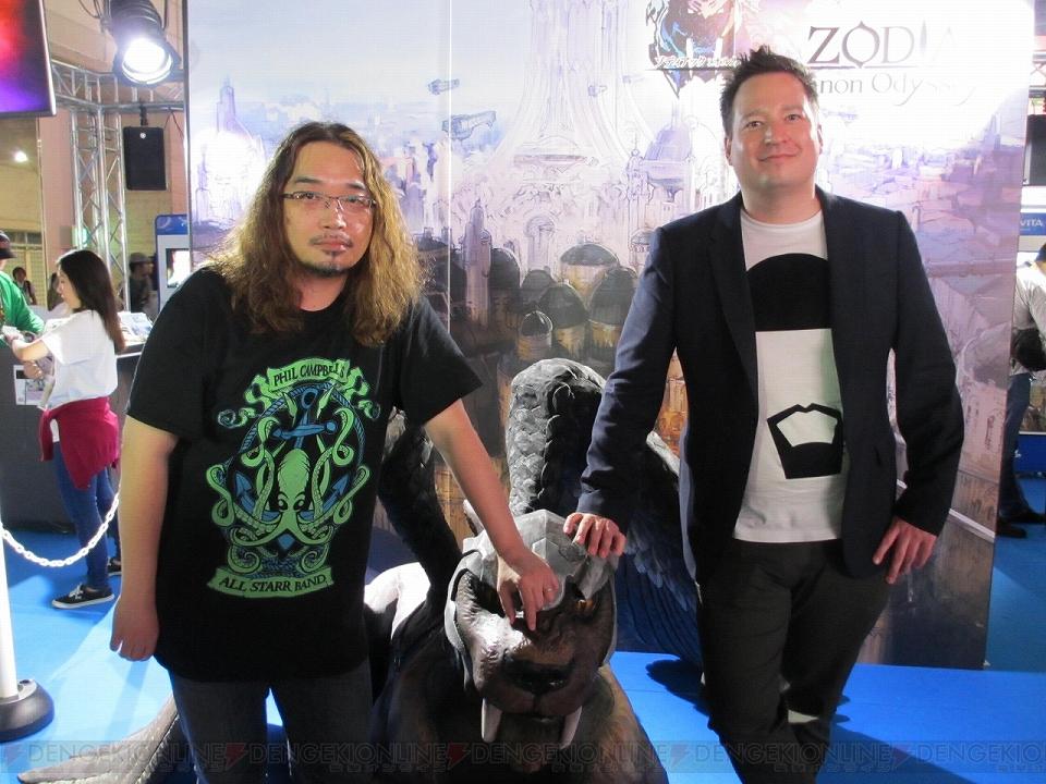 野島一成さんと『FFVII』が大好きなKobojo・CEOにJRPGを目指した『ゾディアック』について聞く【TGS2015】