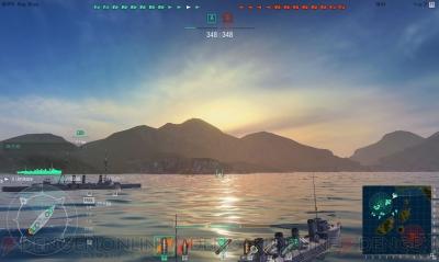 『World of Warships』
