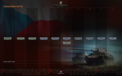 電撃 - PC版『WoT』チェコスロバ...