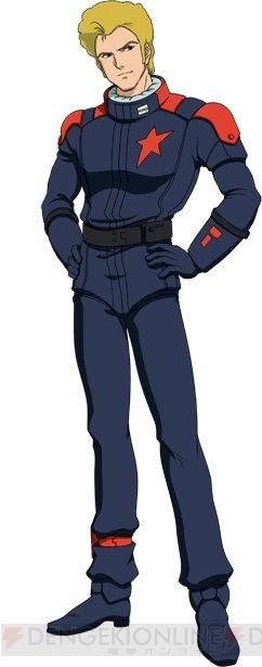 『スーパーロボット大戦X-Ω』 ▲ジェリド・メサ。 イベントクエストでドロップするハイザックを最