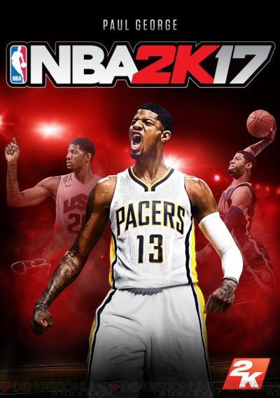 『NBA 2K17』スタンダード・エディション版のパッケージにポール・ジョージ選手を起用