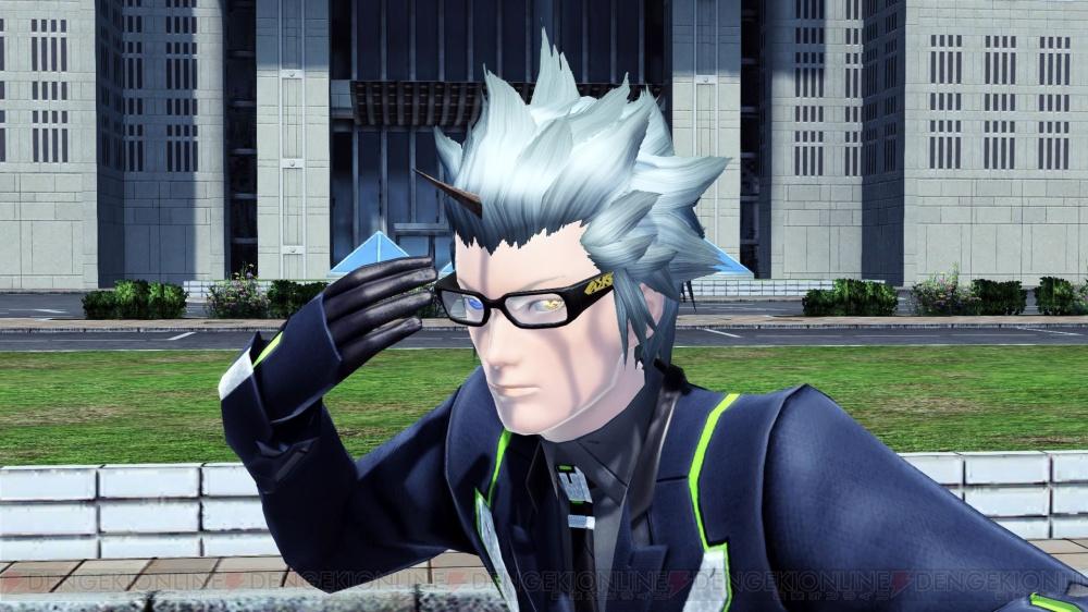 Thick Frame Square Glasses: Black
