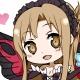 『アクセル・ワールド VS SAO』電撃限定版付属アクリルキーホルダー・黒雪姫アスナの完成イラストが到着!