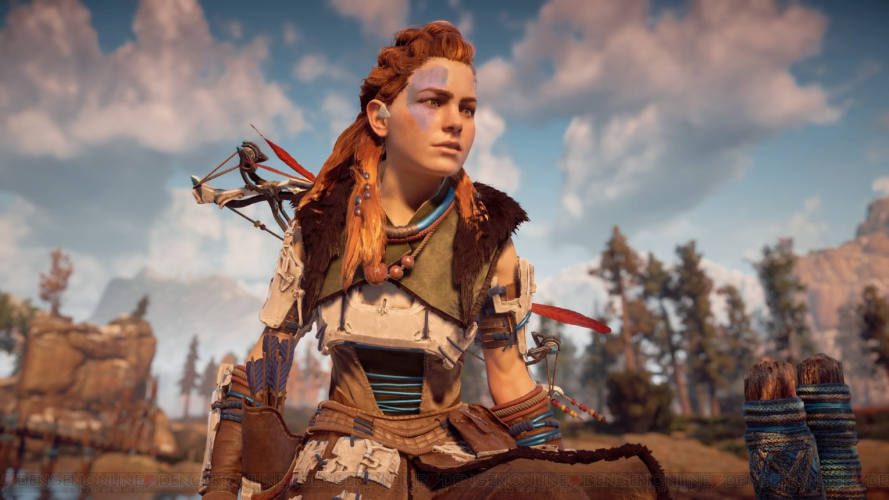Horizon Face Paint Zero Dawn