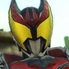 『仮面ライダー CF』仮面ライダーキバの宙吊りアクションなど参戦ライダーの特徴を紹介