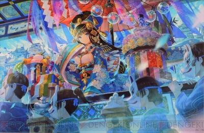 藤ちょこさんの色鮮やかな作品をcg I初のフルスペックで商品化制作に