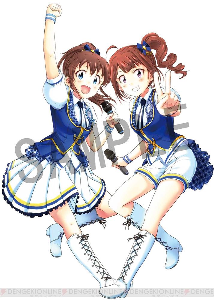 『アイドルマスター ミリオンライブ!』コミカライズ3巻オリジナルCD付き限定版カバーイラスト到着!