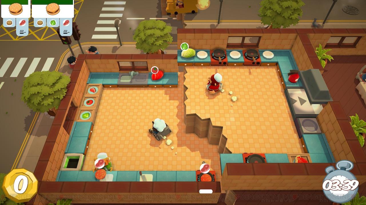 【おすすめDLゲーム】『Overcooked オーバークック』は厨房の気分をリアルに味わえるゲーム