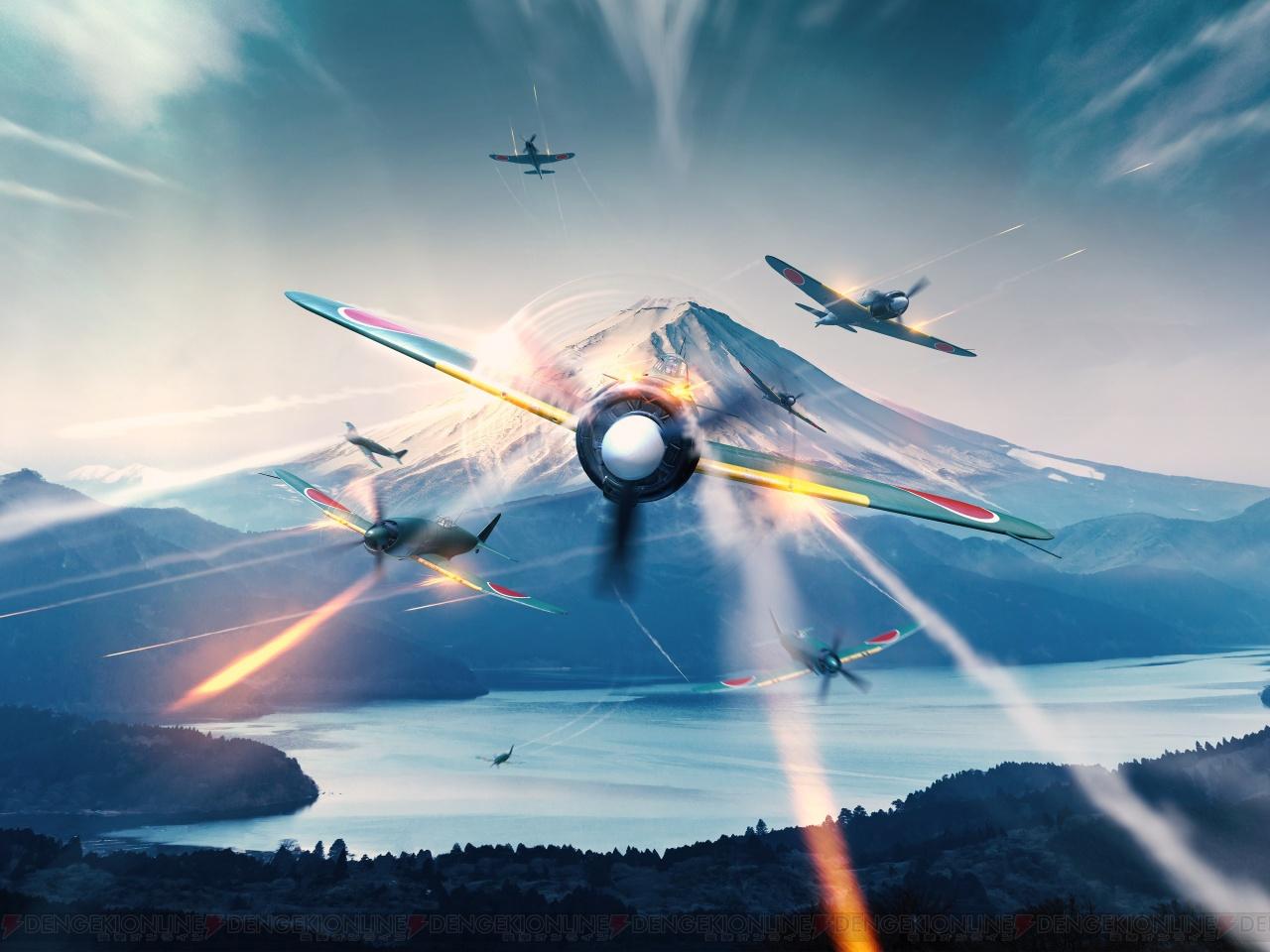 オンライン空戦MMOゲーム『World of Warplanes』PC版の日本版テストが配信