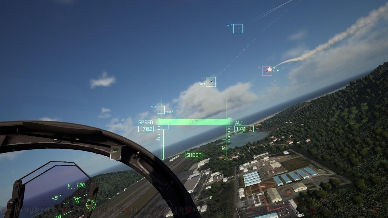 『エースコンバット7』VRモードをレポート! 極上のリアリティでパイロット体験が味わえる