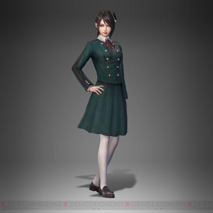 『真・三國無双8』追加コス第2弾が11月22日配信。制服をモチーフにした星彩や鮑三娘の衣装が登場