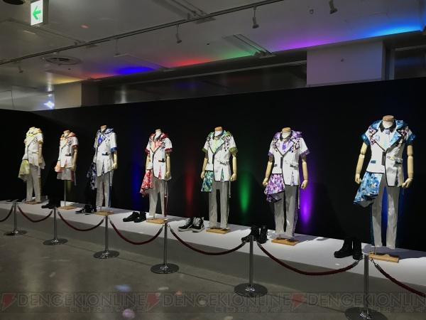 モンジェネおじさんがレポート『アイドリッシュセブン 1st LIVE「Road To Infinity」展覧会』の魅力