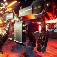 『EDF: アイアンレイン』戦闘用ビークルを一挙紹介。強力な武装を積み込んだ最新型ウォーメックに注目
