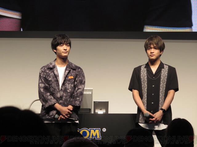 梅原裕一郎さん、石川界人さんが夢アプリに挑戦♥ TGS2019『囚われのパルマ』3周年スペシャルステージレポ