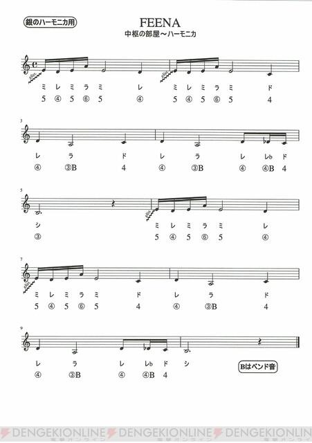 楽譜 シナリオ フォート ナイト