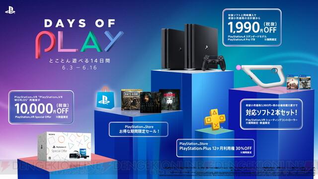 """期間限定セール""""Days of Play 2020""""開催。PS4本体などがセールに"""