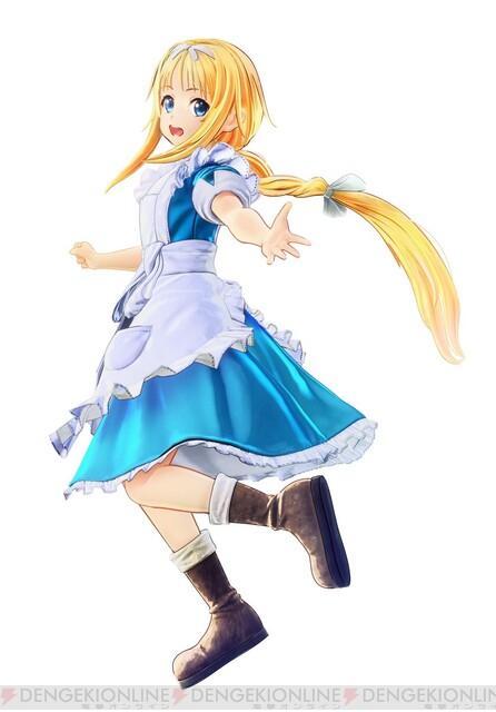 『SAO アリシゼーション リコリス』に登場する幼少期アリスのモデルが公開!