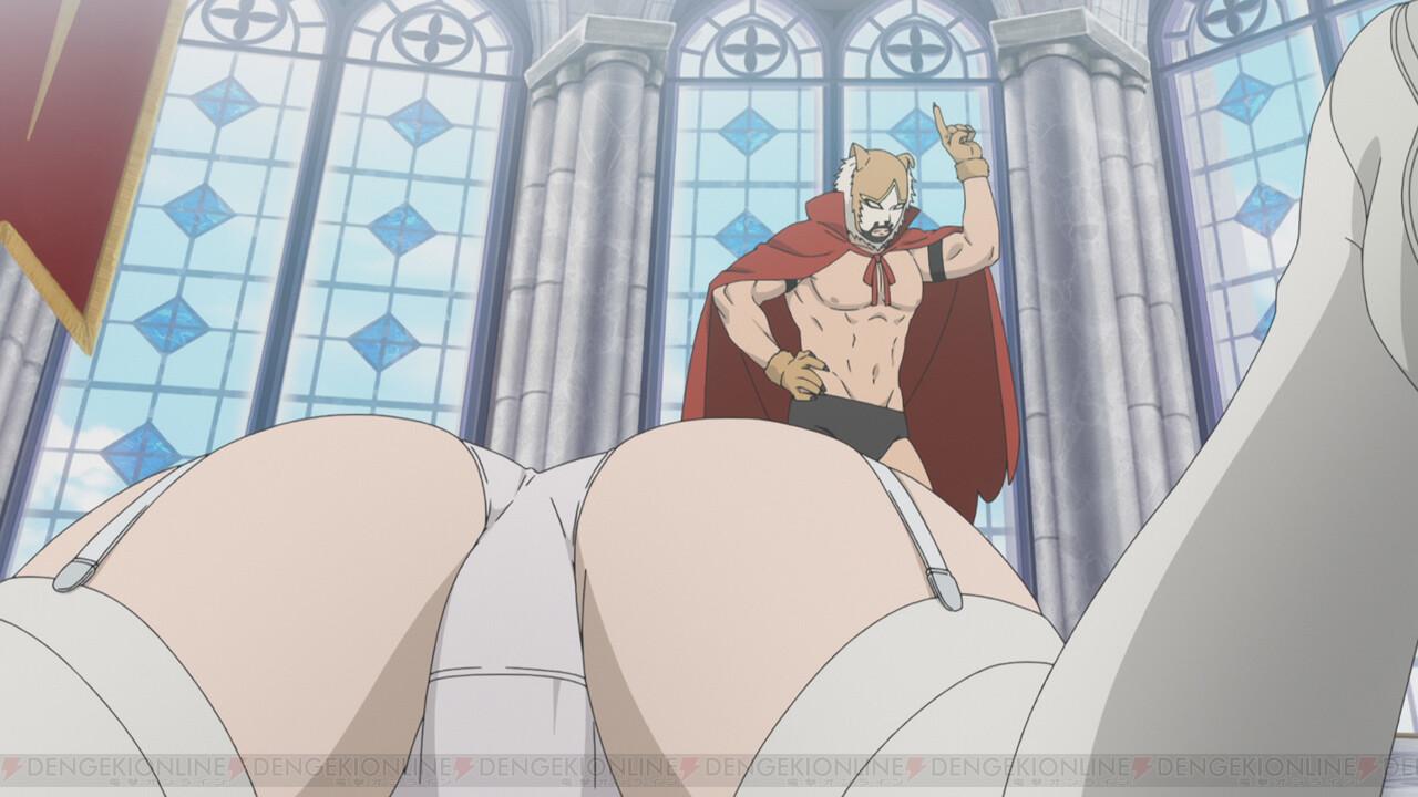 旗揚!けものみち』第1話から姫がパンモロ\u2026\u2026。いったい何が