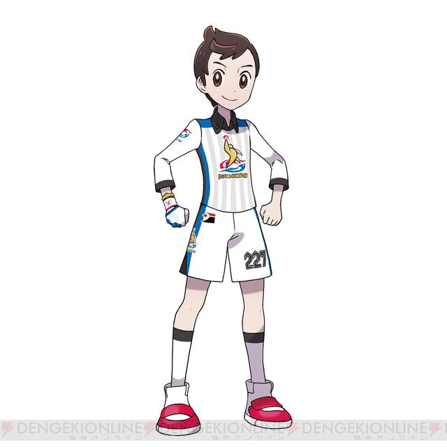 ユニフォーム 着替え ソード ポケモン