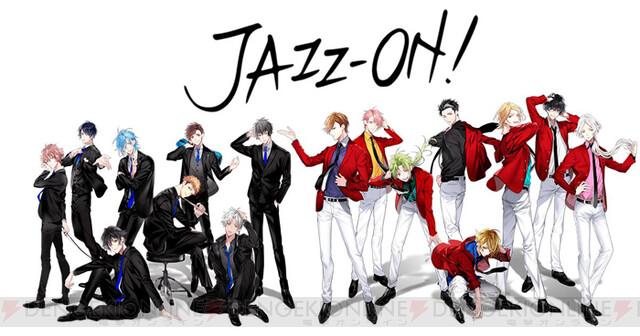 男子高校生たちの青春ジャズストーリー『JAZZ-ON!』が始動。キャストは古川慎さんら16名の豪華声優陣!