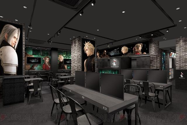『FF7リメイク』スクエニカフェ3店舗とコラボ決定