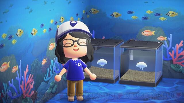 新江ノ島水族館が『あつ森』のマイデザインを無料配布。キュートなユニフォームをゲット!