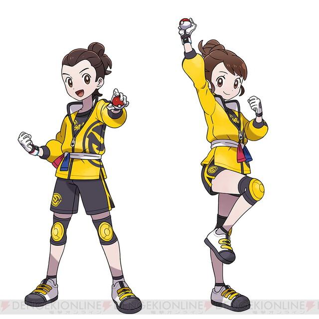 剣 服 ポケモン 盾