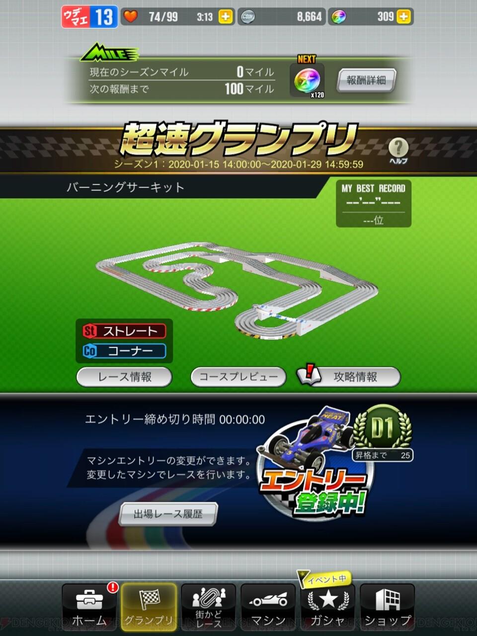 超速 グランプリ 最速