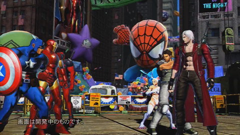 『MARVEL VS. CAPCOM 3 Fate of Two Worlds』対戦動画